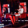 Les quatre coachs de The Voice 4 lors de la première soirée des auditions à l'aveugle : Florent Pagny, Jenifer, Mika et Zazie !