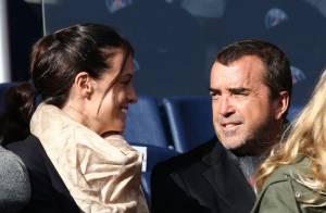 Jade Foret et Arnaud Lagardère : Amoureux complices près de Nicolas Sarkozy