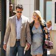 Ali Larter et son époux, Hayes MacArthur, à Los Angeles le 6 octobre 2014.