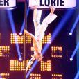 """Simon Heulle, gagnant de l'édition précédente - Demi-finale de """"La France a un incroyable talent 2015"""" sur M6. Le 20 janvier 2015."""