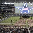 Les obsèques en grande pompe du héros Chris Kyle au Cowboys Stadium à Arlington, le 11 février 2013.