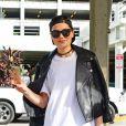 Jessie J arrive à l'aéroport de Miami, le 2 décembre 2014.