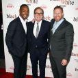"""Mike Binder, Anthony Mackie - Première de """"Black or White"""" à Los Angeles le 20 janvier 2015."""