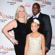 """Jillian Estell et ses parents à la première de """"Black or White"""" à Los Angeles le 20 janvier 2015."""