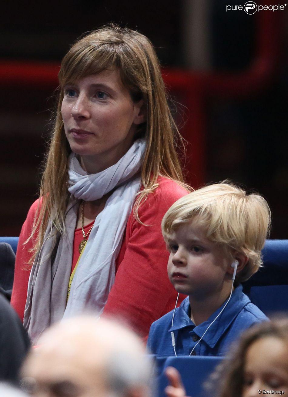 Photo of Gilles Simon & his  Son  Timothée Simon