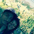 Vivian et Nathalie semblent très amoureux à Rio où se déroule le tournage des  Anges 7 . Janvier 2015.