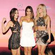 Les sexy catcheuses Brie Bella, Nikki Bella et Summer Rae assistent à la soirée ESPN The Party à Scottsdale, Arizona. Le 31 janvier 2015.