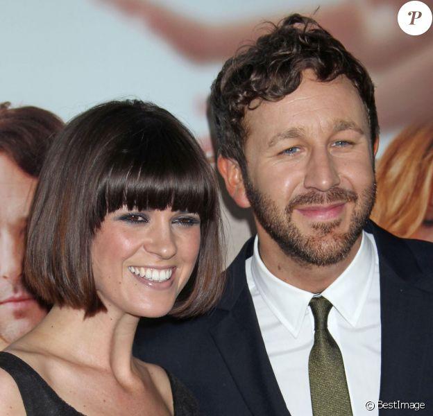 """Chris O'Dowd et sa femme Dawn - Avant-première du film """"This is 40"""" à Hollywood, le 12 décembre 2012."""
