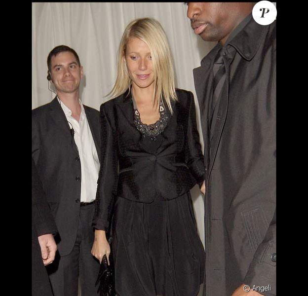 Gwyneth Paltrow à Londres, le 16/09/08