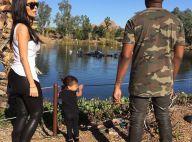 Kim Kardashian, Kanye et North West : Visite au zoo avant le Super Bowl XLIX
