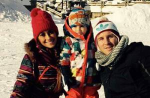 Lionel Messi et sa belle Antonella : Heureux au ski avec leur petit Thiago