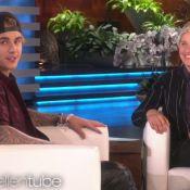 Justin Bieber et Ellen DeGeneres surpris dans des toilettes publiques
