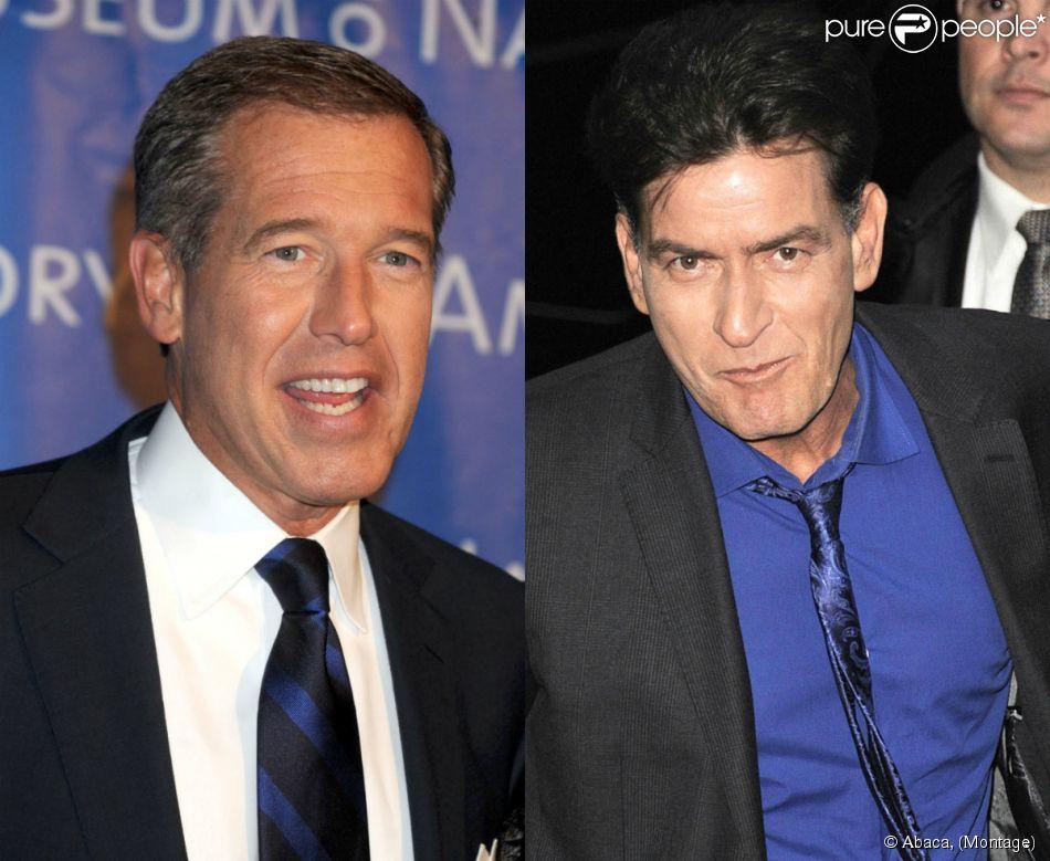 Dans une lettre ouverte publiée le 12 février 2015, Charlie Sheen apporte son soutien au journaliste Brian Williams, suspendu de NBC NEWS pour avoir menti sur l'un de ses reportages en Irak.