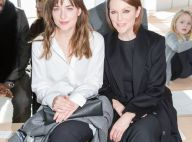 Fashion Week : Dakota Johnson (50 Shades of Grey), modeuse chic chez Hugo Boss