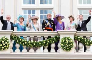 PHOTOS : La reine Beatrix des Pays-Bas et ses enfants, des tenues de rentrée... qui flashent !