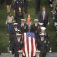 L'enterrement de Chris Kyle le 11 février 2013 au Texas