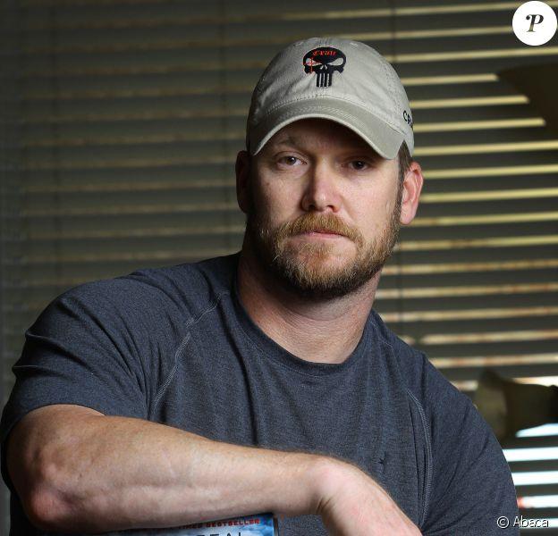 Chris Kyle, ex-tireur d'élite des Navy Seal, le 6 avril 2012