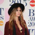 Cara Delevingne - 35e cérémonie des Brit Awards à l'O2 Arena de Londres, le 25 février 2015.