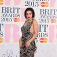 Charli XCX - 35e cérémonie des Brit Awards à l'O2 Arena de Londres, le 25 février 2015.