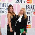 Mel C et Emma Bunton - 35e cérémonie des Brit Awards à l'O2 Arena de Londres, le 25 février 2015.
