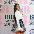 Jamelia - 35e cérémonie des Brit Awards à l'O2 Arena de Londres, le 25 février 2015.