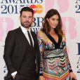 Dave Berry et Lisa Snowdon - 35e cérémonie des Brit Awards à l'O2 Arena de Londres, le 25 février 2015.