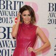 "Caroline Flack - Soirée des ""BRIT Awards 2015"" à Londres, le 25 février 2015.  The BRIT Awards 2015 held at The O2, Peninsula Square, London. 25 February 2015.25/02/2015 - Londres"