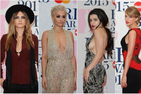 Brit Awards 2015 : Rita Ora, Charli XCX et Cara Delevingne sexy et décolletées