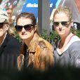 Meryl Streep se promène dans les rues de New York en compagnie de ses filles Grace et Mamie Gummer. Le 30 avril 2013