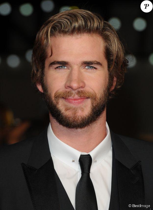 """Liam Hemsworth - Première du film """"Hunger Games - La Révolte : Partie 1"""", Odeon Leicester Square à Londres, le 10 novembre 2014."""