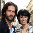 Julien Derouault et Marie-Claude Pietragalla - Soirée du nouvel an juif chez Marek Halter à Paris le 8 septembre 2013.
