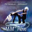 """Marie-Claude Pietragalla et son compagnon Julien Derouault dans """"Mr & Mme Reve"""" au Grand Rex à Paris à partir du 25 mars 2015 puis en tournée dans toute la France."""