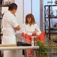 Adel et sa maman dans  Top Chef 2015  (épisode 7), le lundi 9 mars 2015 sur M6.