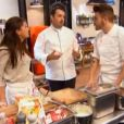 Kevin, sa soeur et Jean-François Piègedans  Top Chef 2015  (épisode 7), le lundi 9 mars 2015 sur M6.