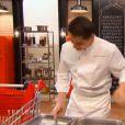 Xavier et son papa dans  Top Chef 2015  (épisode 7), le lundi 9 mars 2015 sur M6.