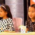 Charlotte et Quitterie, les filles deHélène Darroze,dans  Top Chef 2015  (épisode 7), le lundi 9 mars 2015 sur M6.