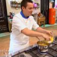 Christophe dans  Top Chef 2015  (épisode 7), le lundi 9 mars 2015 sur M6.