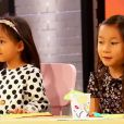 Les candidats découvrent les filles d'Hélène Darroze -  Top Chef 2015 , sur M6, le lundi 9 mars 2015.