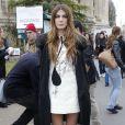 """Bianca Brandolini d'Adda - Arrivées au défilé de mode """"Giambattista Valli"""", collection prêt-à-porter automne-hiver 2015/2016, à Paris. Le 9 mars 2015"""