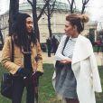 Caroline Receveur pour la Fashion Week parisienne