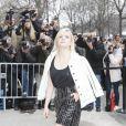 """Cécile Cassel - Arrivées au défilé de mode """"Chanel"""", collection prêt-à-porter automne-hiver 2015/2016, à Paris. Le 10 mars 2015"""
