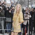 """Poppy Delevingne - Arrivées au défilé de mode """"Chanel"""", collection prêt-à-porter automne-hiver 2015/2016, à Paris. Le 10 mars 2015"""