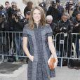 """Joséphine Japy - Arrivées au défilé de mode """"Chanel"""", collection prêt-à-porter automne-hiver 2015/2016, à Paris. Le 10 mars 2015"""