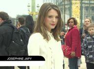 Joséphine Japy sexy face à Stromae et les Zoolander chez Valentino