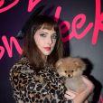 Exclusif - Frédérique Bel - Soirée Mercedes Love Fashion week au Vip Room à Paris le 10 mars 2015.