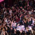 Exclusif - Kelly Rowland - Soirée Mercedes Love Fashion week au Vip Room à Paris le 10 mars 2015.