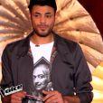Battle entre Jacques et Indigo, dans  The Voice 4 , sur TF1, le samedi 14 mars 2015.