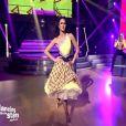 Leila Ben Khalifa dans  Danse avec les stars  au Liban. La jolie brune a tout donné lors d'un tango pour le premier numéro du programme diffusé le 1er mars 2015.