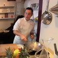 Le show culinaire de Christophe : le foie gras -  Top Chef 2015  sur M6, le lundi 16 mars 2015.