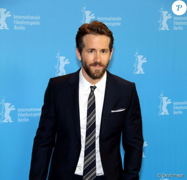 "Ryan Reynolds au Photocall du film ""Woman in Gold"" lors du 65e festival international du film de Berlin (Berlinale 2015) le 9 février 2015."